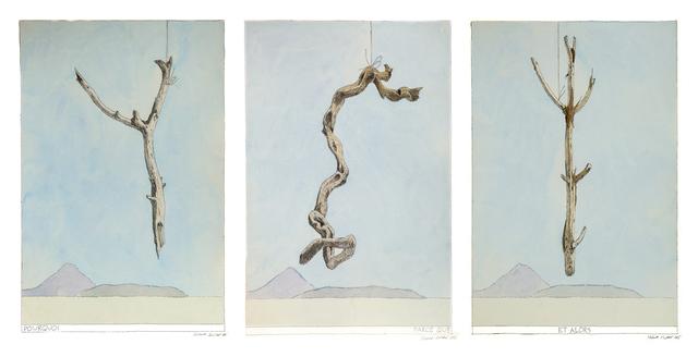 , 'Pourquoi - Parce que - Et alors (triptych),' 2015, Galerie Iragui