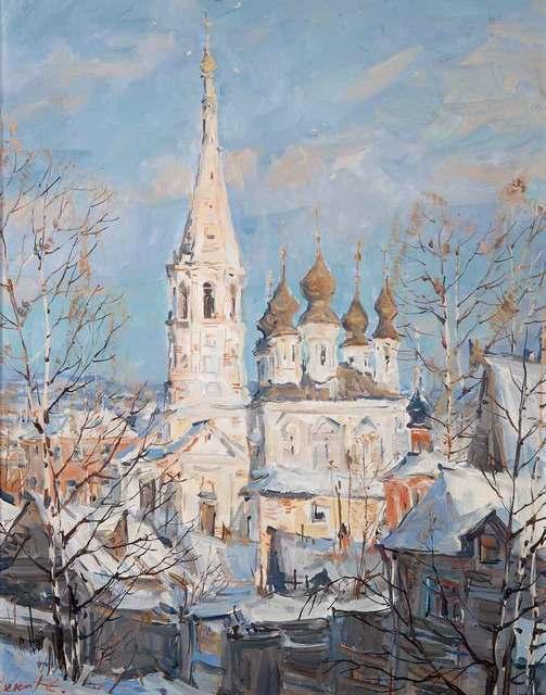Sergei Chepik, 'Voznesenya Church', 1982, Catto Gallery