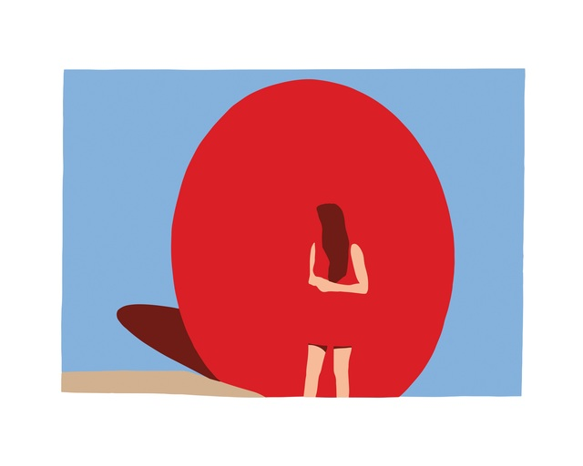 Casey Waterman, 'Red Ball', 2018, The Art Design Project