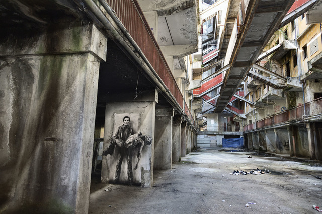 , 'Pasolini assassiné - Si je reviens. Napoli / Scampia 2,' 2015, Galerie Lelong & Co.