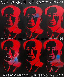 , 'Red Mao,' 2018, One Arts Club