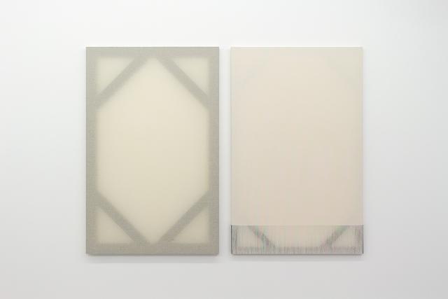 , 'Målning I, II,' 2015, Belenius