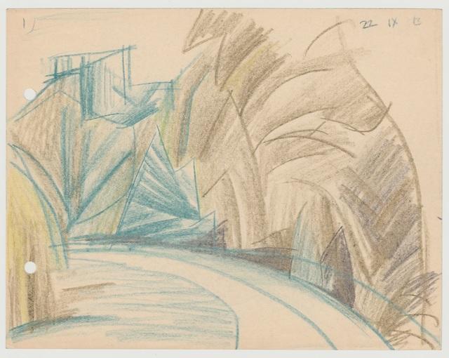 , 'Weg mit Bäumen,' 1913, Henze & Ketterer