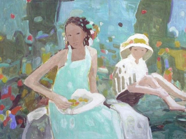 , 'Mother & Child, Green Garden,' , Miller Gallery