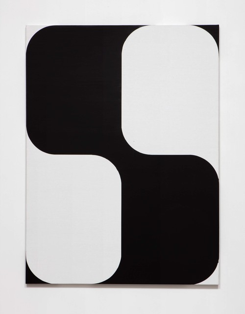 , 'SLATE: [As] Image No. 5 (black on white),' 2015, Erin Cluley Gallery
