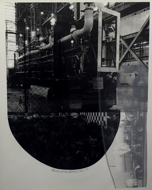 Robert Rauschenberg, 'Tracks, from Stoned Moon', 1970, Print, Lithograph, Gregg Shienbaum Fine Art