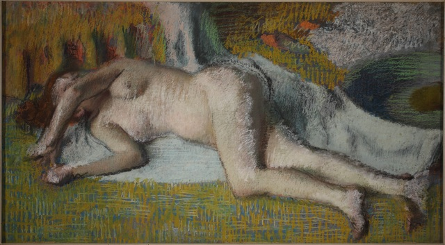 Edgar Degas, 'Après le Bain, (Femme Nue Couchée) (After the Bath (Lying Nude))', Nahmad Contemporary