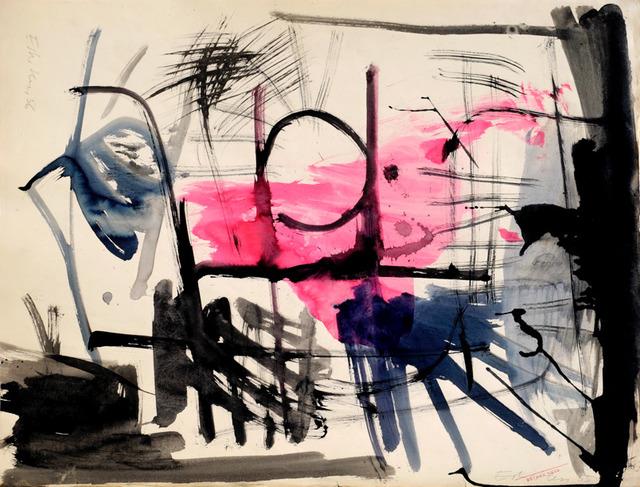 , 'Dessin au pinceau 2,' 1957, Galerie Marie-Robin