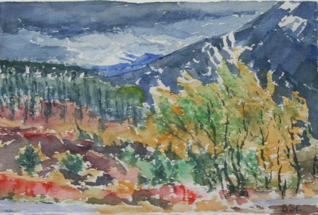 , 'Dark Mountain,' , Wallace Galleries