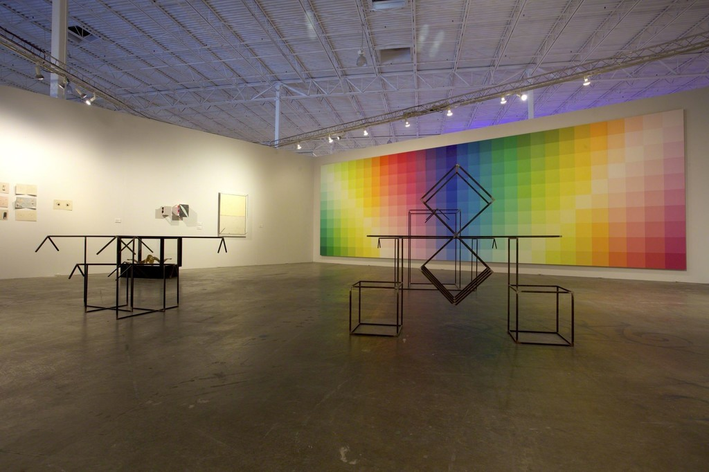 Installation view of Mana Seven, on view at Mana Wynwood Convention Center from November 30–December 4, 2016. Photo: Penn Eastburn.
