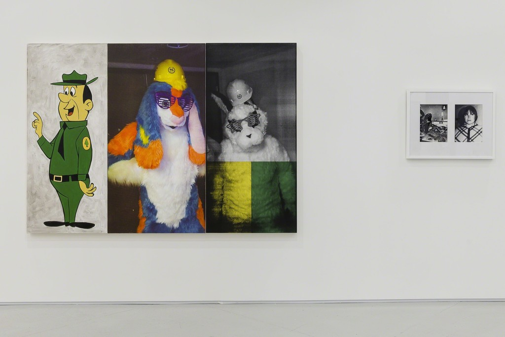 Julia Wachtel, Mac Adams, Installation view, 2015