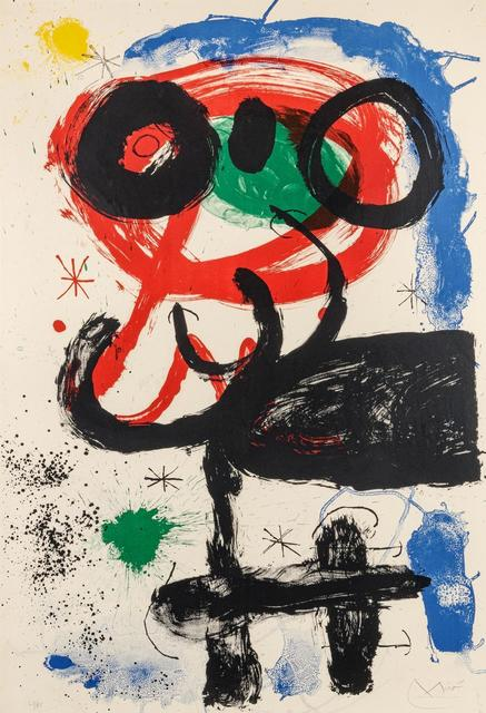 Joan Miró, 'La vendangeuse (The Harvester)', 1964, Hindman