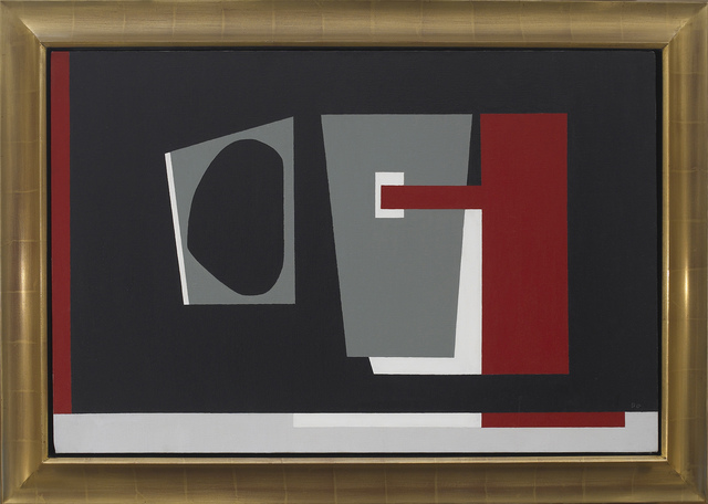 , 'Amorphous Black,' 1939, Vallarino Fine Art