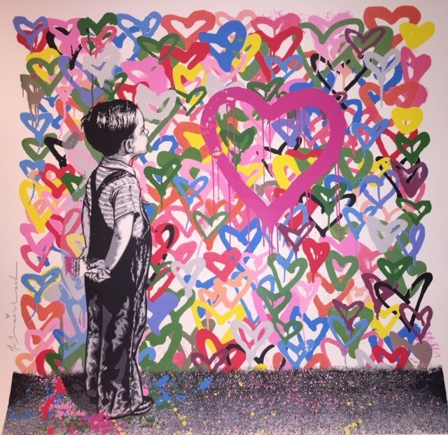 Mr. Brainwash, 'With All My Love', 2016, New Union Gallery