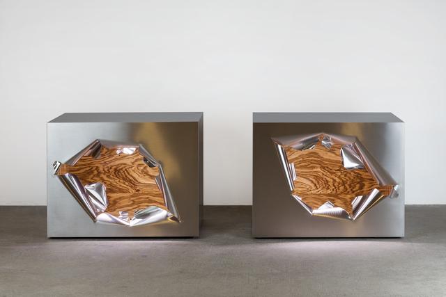 , 'Cube Casse / Broken Cube,' 2010, Demisch Danant