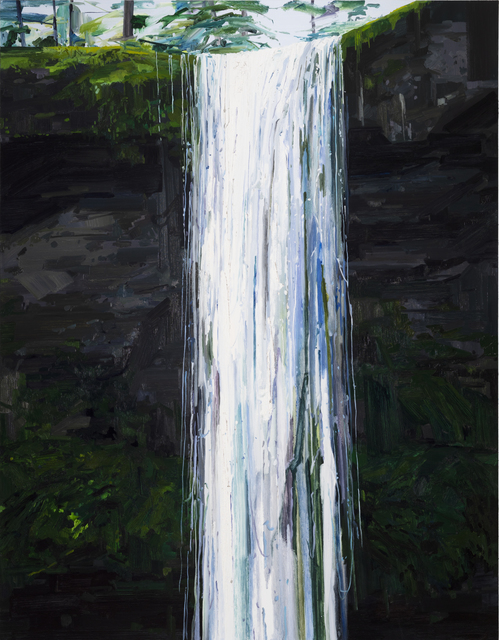 , 'Waterfall,' 2018, DC Moore Gallery