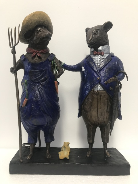 , 'City Mouse and Country Mouse, ed. 1/9,' 2018, Adelson Cavalier Galleries