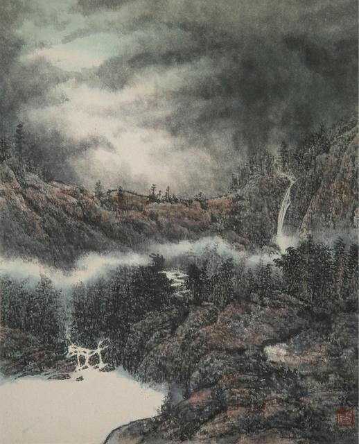 , '山水(一) & (二) Landscape (1) & (2) (a set of two),' 2014, Artify Gallery