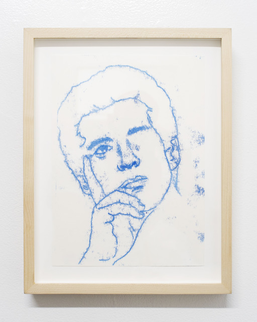 , 'Pensive John John,' 2017, Rubber Factory