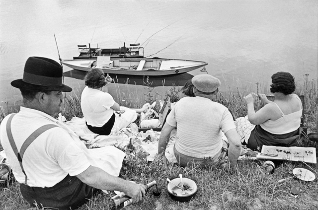 , 'PICNIC ON THE BANKS OF THE MARNE, 1938,' 1938, Beetles + Huxley