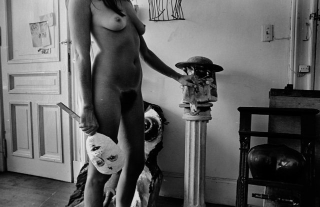 , 'Untitled. Liliana Maresca with her artworks.,' 1983, ROLF ART