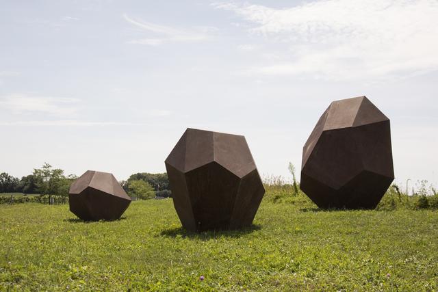 Shayne Dark, 'Glacial Series: Drop Stones 1, 2, & 3', 2015, Oeno Gallery