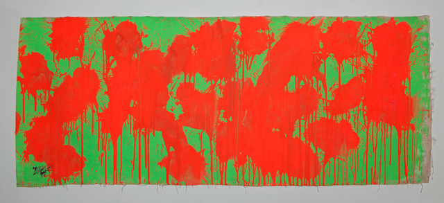 Ushio Shinohara, 'Red on Green – May 28, 2009', 2014, Deborah Colton Gallery