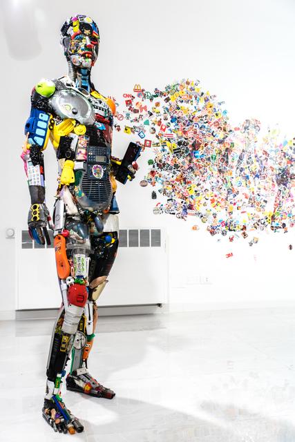 , 'The painter,' 2019, SimonBart Gallery