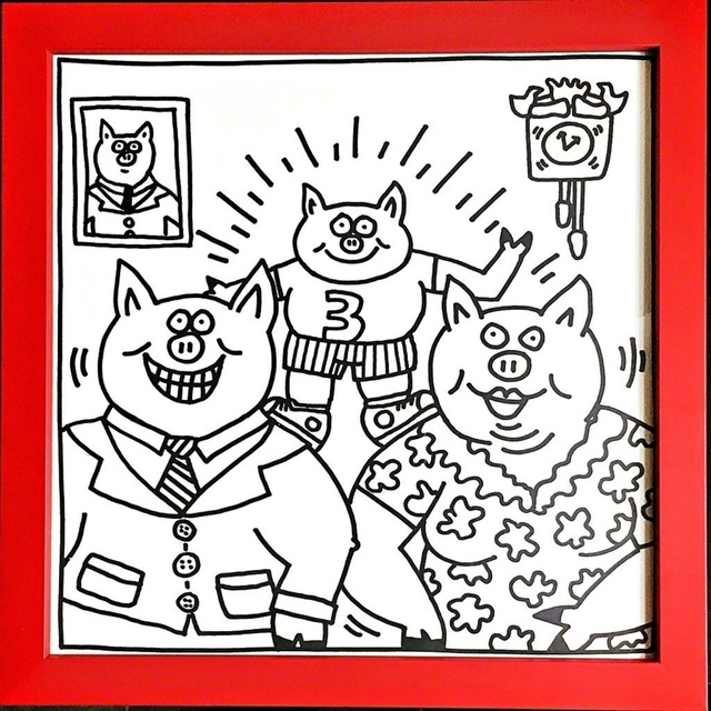 Keith Haring, 'Coloring Book (Two Plates)', 1986, Alpha 137: Prints & Exhibition Ephemera VII