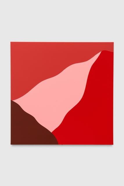 , 'Red #001,' 2019, Brannan Mason Gallery