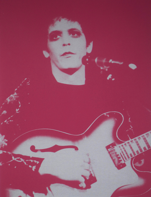 Russell Young, 'Lou Reed', 2008, Galeria Houssein Jarouche