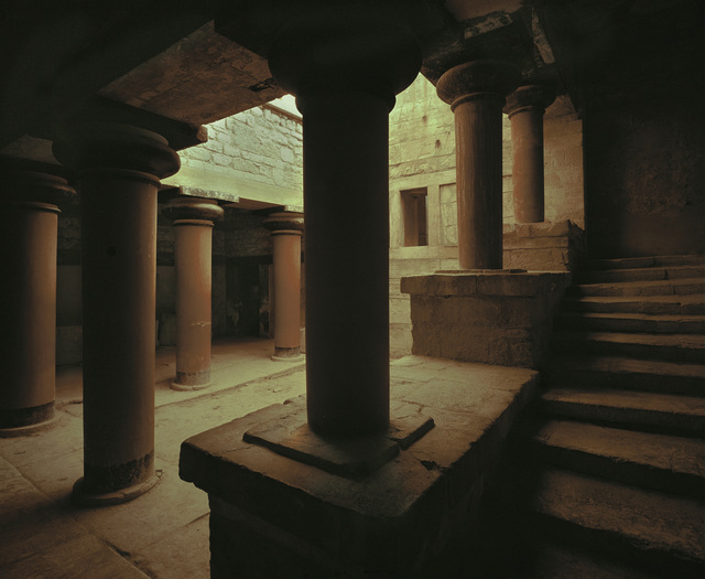 'Palace of Knossos (view of courtyard)', Erich Lessing Culture and Fine Arts Archive