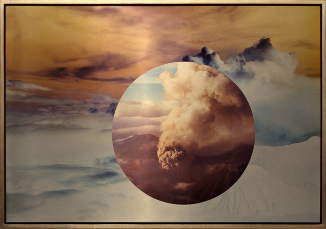 , 'Mt. Bromo From Above Encircled,' 2011, Brian Gross Fine Art