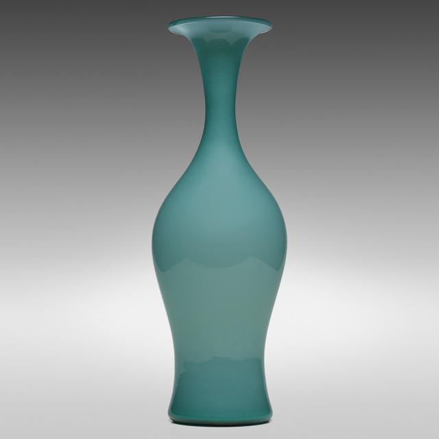 Paolo Venini, 'Monumental Opalino vase, model 3556', 1950, Design/Decorative Art, Opaline glass, Rago/Wright