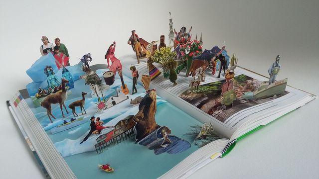 , 'Chile e Ilha de Páscoa 236-237 – série The World,' 2015, Celma Albuquerque Galeria de Arte