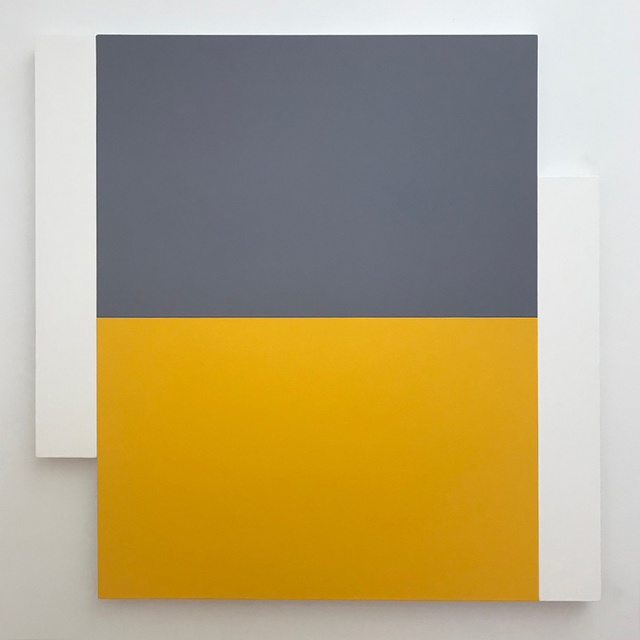 , 'Poles - White, Grey, Yellow,' 2012, Telluride Gallery of Fine Art