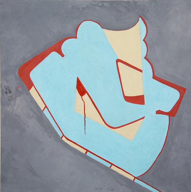 , 'Moxie, 2015 Oil on panel, 24 x 24 in. sha003,' 2015, Kathryn Markel Fine Arts