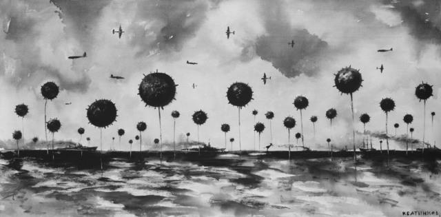 "Konstantin Batynkov, '""Running on waves""3', 2005, Krokin Gallery"
