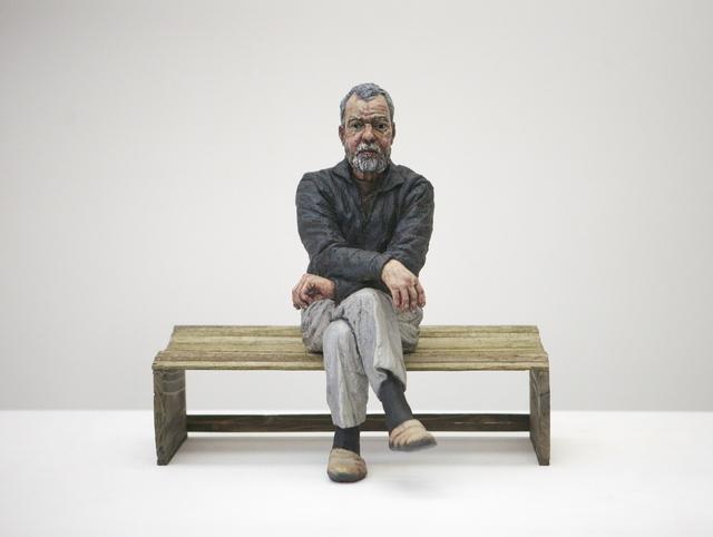 , 'Maquette for John (Seated),' 2011, Osborne Samuel