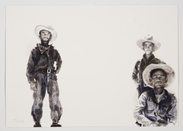 , 'Melon Field Workers,' 2016, Nancy Hoffman Gallery