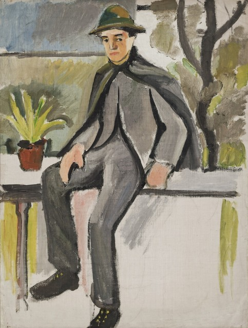 , 'Farmer Boy on Balcony,' 1910, Galerie Thomas