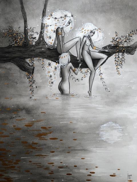 , 'Persephone et les nymphes au bain,' 2019, Haven Gallery