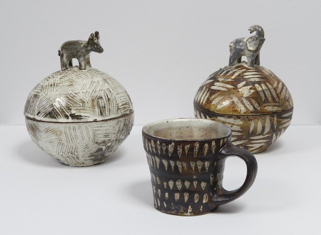 , 'Bull Jar, Elephant Jar, Mug I,' 2017, Jane Hartsook Gallery