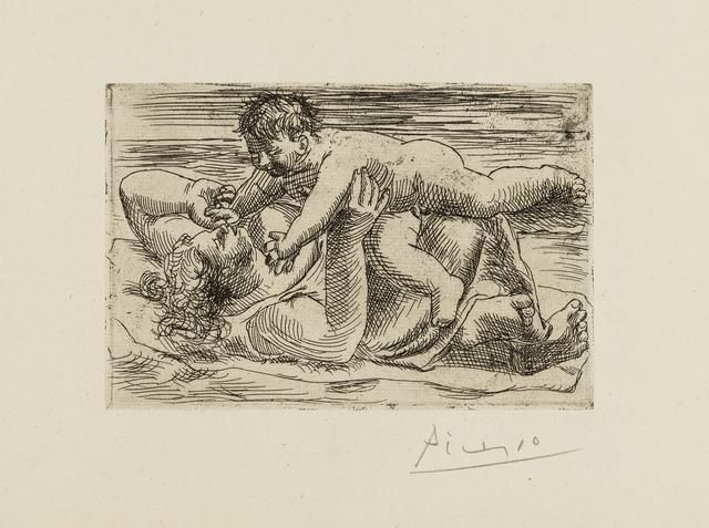 Pablo Picasso, 'Joie Maternelle (Bloch 49)', 1921, Print, Etching, Forum Auctions