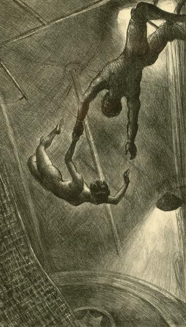 John Steuart Curry, 'The Missed Leap', 1934, Kiechel Fine Art