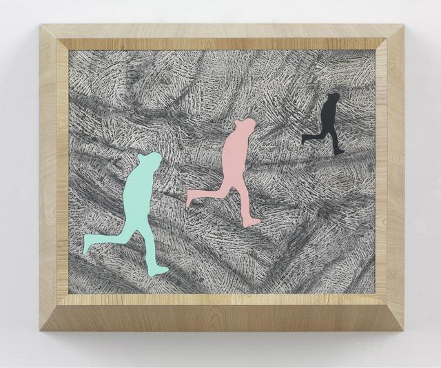 , 'Running Man (triple),' 2013, Gagosian
