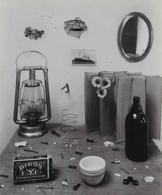 , 'Untitled (Bird's Eye Still Life),' 1945, Tibor de Nagy