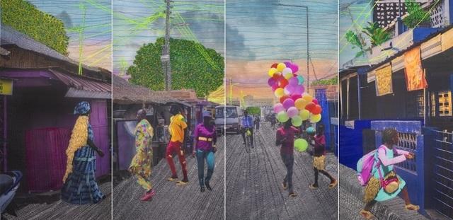 Joana Choumali, 'Relating To Imaginary Things, Series Albahian', 2019, Gallery 1957