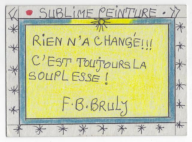, 'Rien n'a changé !!! C'est toujours la souplesse !,' 2004, Magnin-A