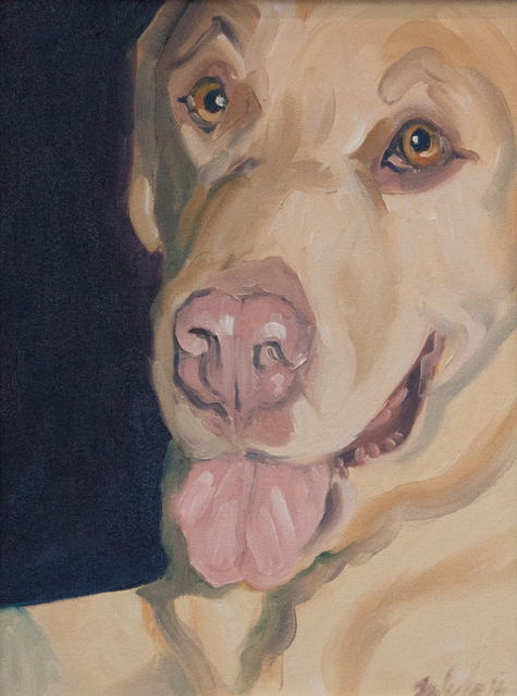 Sheila Wedges, 'Happy and Loves You', ca. 2005, Painting, Oil on Canvas, Janus Galleries